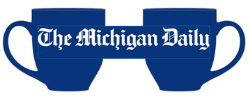 Enjoy your favorite coffee, tea, or hot cocoa in what will soon be your new favorite mug. The Michigan Daily mug is a dishwasher-safe, blue ceramic mug with white logo.
