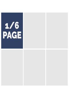 2021 Graduation Commemorative Ad - 1/6 Page in Color