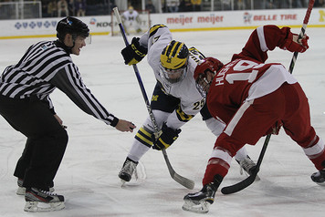 Michigan Ice Hockey vs Wisconsin - 1