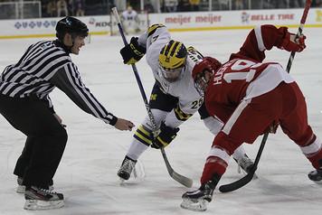 Michigan Ice Hockey vs Wisconsin - 1