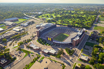 University of Michigan Campus - Aerial - 1