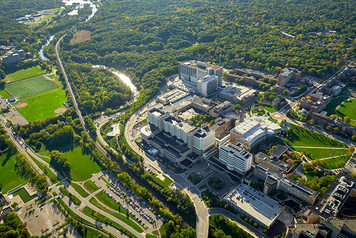 University of Michigan Campus - Aerial - 5