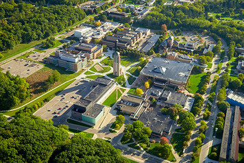 University of Michigan Campus - Aerial - 6
