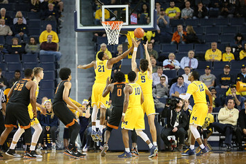 Michigan Men's Basketball vs Texas - 3