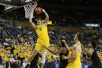 Michigan Men's Basketball vs Texas - 4