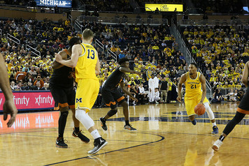 Michigan Men's Basketball vs Texas - 6