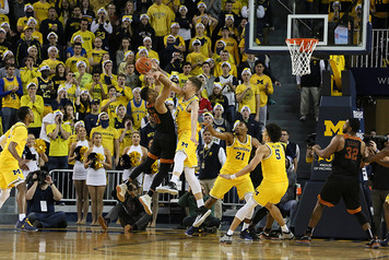 Michigan Men's Basketball vs Texas - 7