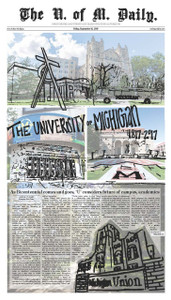 September 15, 2017 - Bicentennial Edition - Front Page Poster plus Print Edition
