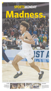 March 19, 2018 Sports Monday Front Page (Pick Up Only)