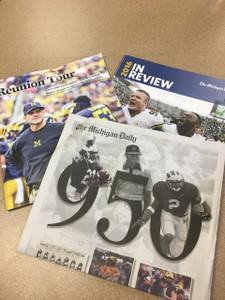Michigan Football 950 Wins + 2015 & 2016 Lookback Guides Bundle