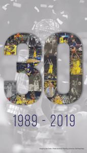 "Michigan Basketball - ""30"" Poster (Shipped)"