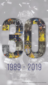 "Michigan Basketball - ""30"" Poster (Pick Up Only)"