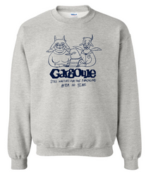 """Limited edition 110th Anniversary Crew Neck Sweatshirt featuring the beloved """"Bird Family"""" adapted from 2018's Winter Issue. """"Blue Outline"""" type Colors offered: Yellow, Neon Green, Ash Grey, White"""