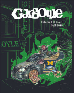 October 2019 issue of The Gargoyle magazine. 16 page mini-tab format.