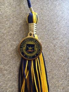 Undergrad Cap, Gown, Program Tassel, Honor Cord & Maize & Blue Tassel w/University Seal