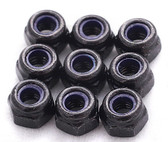 M5 Steel Nylon insert lock nut (10 pack)