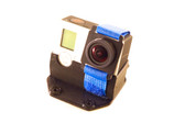 Gopro tilted camera mount made from TPU (limited lifetime warranty) Strap and camera not included.