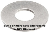 Stainless Steel Washer (pack of 10)
