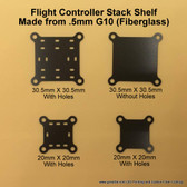 Flight Controller Stack Shelf-.5mm G10