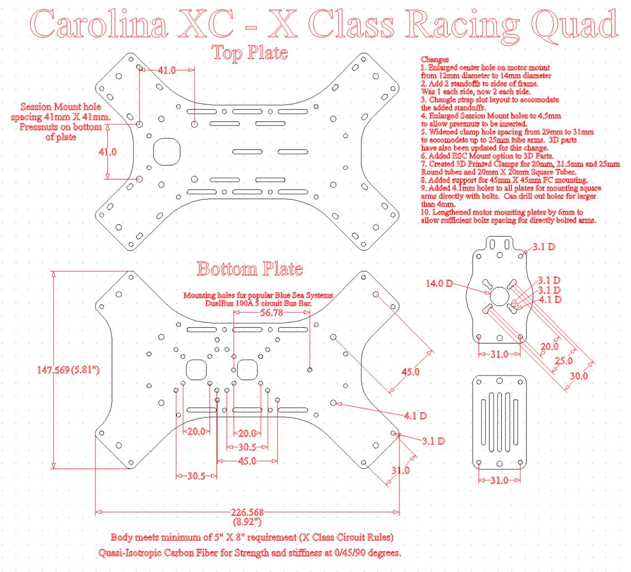 Carolina XC X Class Frame CAD (Free Download) - Plastic-Spider