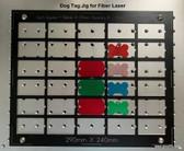 Dog Tag Jig for Fiber Laser (Made from G10)