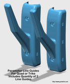 Paramotor Line Guides - Pair (For Quad or Trike)