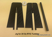 Rotary Jig for 20 oz RTIC Tumbler (Tumbler not included)