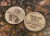 Laser Engraved Quarter