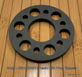 Paramotor Prop Spacer made from Carbon Fiber