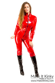 Stretch Vinyl Catsuit -IN STOCK-