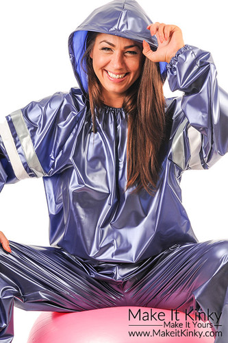 Unisex Sauna Suit With Hood In Stock Make It Kinky