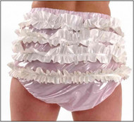 PVC AB Frilly Pants -IN STOCK-