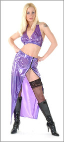 PVC Hobble Skirt -IN STOCK-