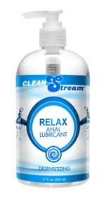 Clean Stream Relax Desensitizing Anal Lube 17 oz
