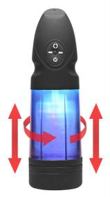 Strobe Multi Function Rechargeable Stroker