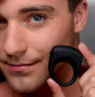 Silicone One Speed Vibrating Cock Ring