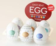 Easy Beat Egg Hard Boiled Masturbator Six Pack