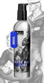 Tom of Finland Water Based Lube- 8 oz