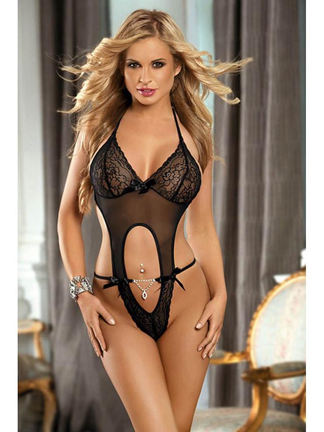 Size lingerie back lace rhinestones adjustable