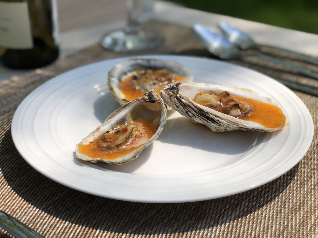 Wood Fire Roasted Oyster