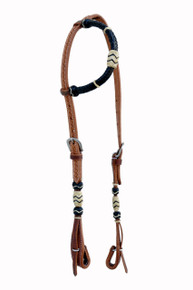 leather one ear style headstall