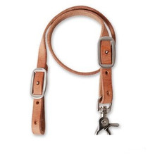Western Natural Wither Strap with Stainless Steel Buckles & Trigger Snap By Aledo Saddlery