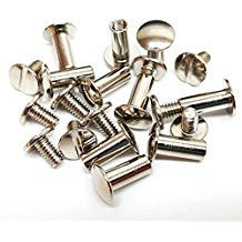 Western Stainless Steel 48 Pieces of Chicago Screws By Aledo Saddlery