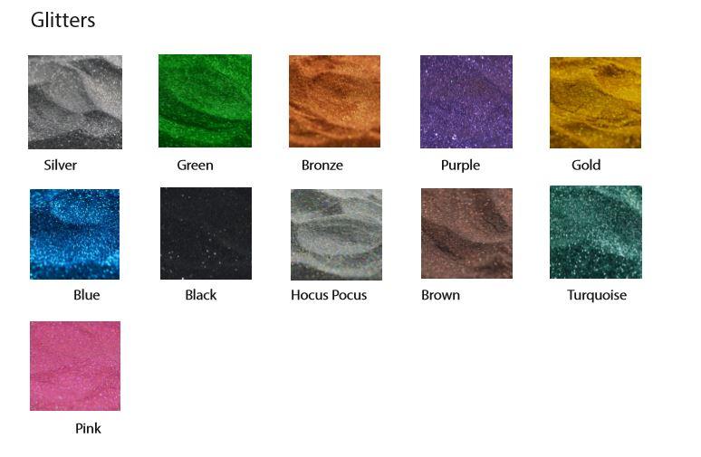 FX Metallic Powder Glitter