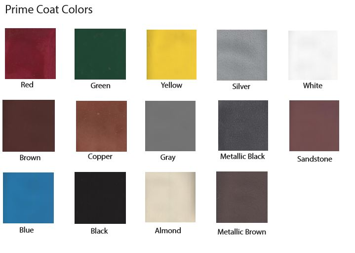 FX Prime Coat Colors