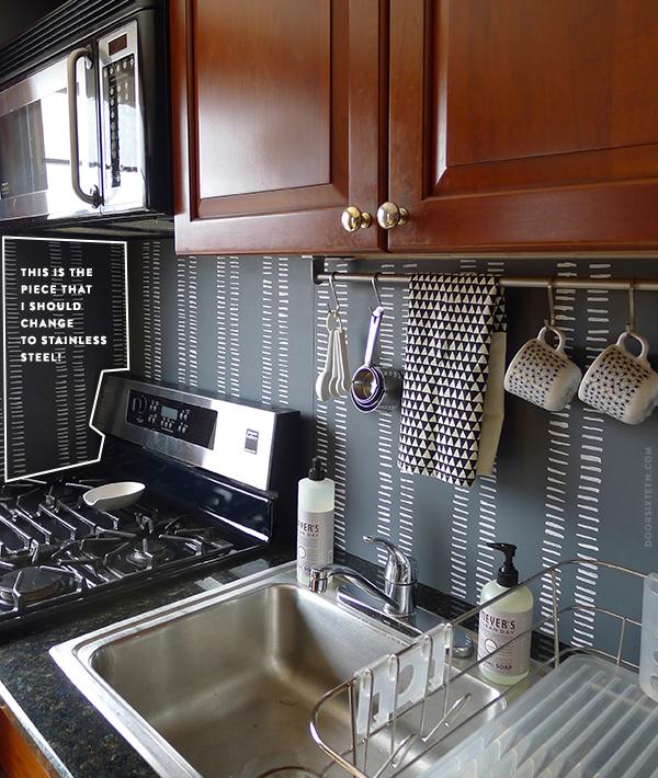 Easy Kitchen Backsplash Makeover: 11 DIY Ideas To Update Your Ugly Rental Kitchen