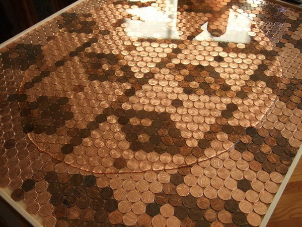 Kitchen Penny Backsplash - removerandreplace.com