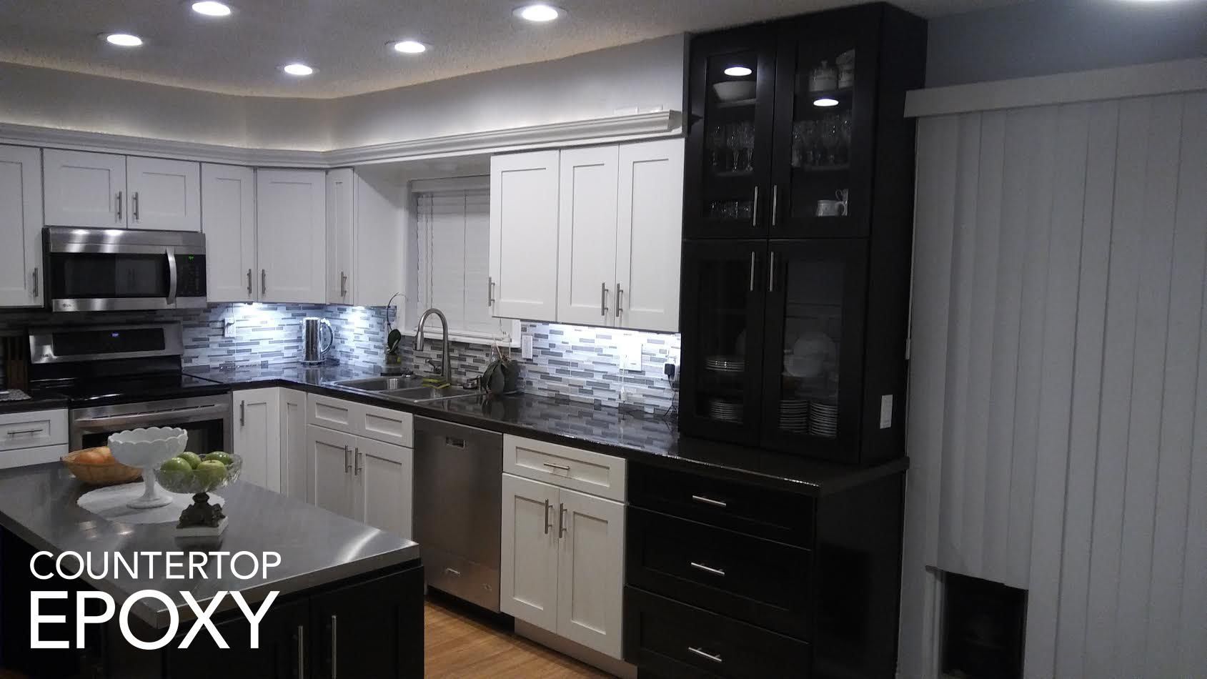 How To Update Your Kitchen Cabinets Counter Top Epoxy