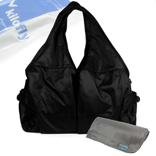 KF Baby UrBANE Diaper Bag + Diaper Changing Pad Value Combo