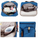KF Baby MAS Travel Backpack Diaper Bag, + Changing Pad Value Combo Set